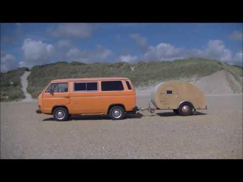 Klein Wohnwagen Eigenbau Teardrop Trailer Build Youtube