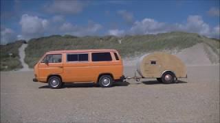 Klein-Wohnwagen Eigenbau, Teardrop-Trailer build
