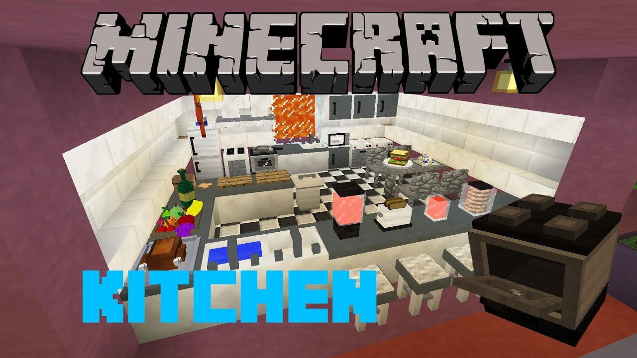 Minecraft Kitchen | Minecraft Rooms & Furniture | Modded ...