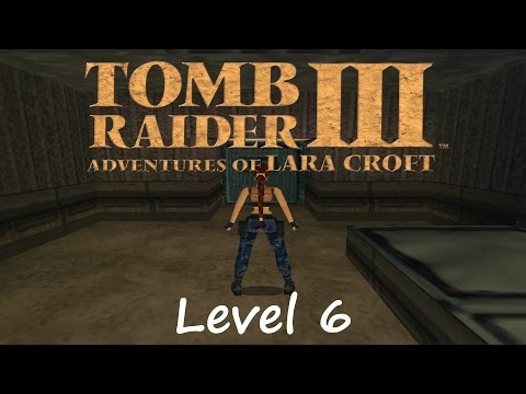 Tomb Raider 3 Walkthrough - Level 6: High Security Compound