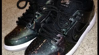 Nike SB Dunk Low Intergalactic Unboxing and on feet!
