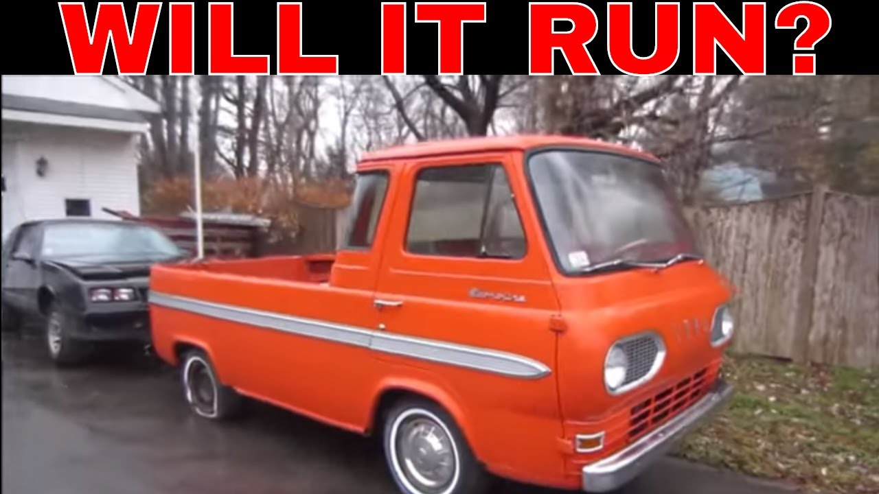 Bought a Ratty Ford Econoline Pickup  Can It Be Saved?