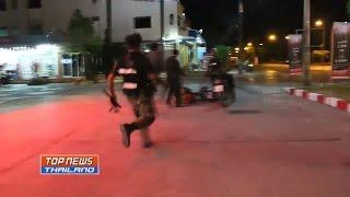 Repeat youtube video ปืนยิงไม่เข้า!! วัยรุ่น 2 กลุ่ม ยกพวกตีกันคาปั๊มน้ำมัน มีผู้บาดเจ็บ 4 ราย