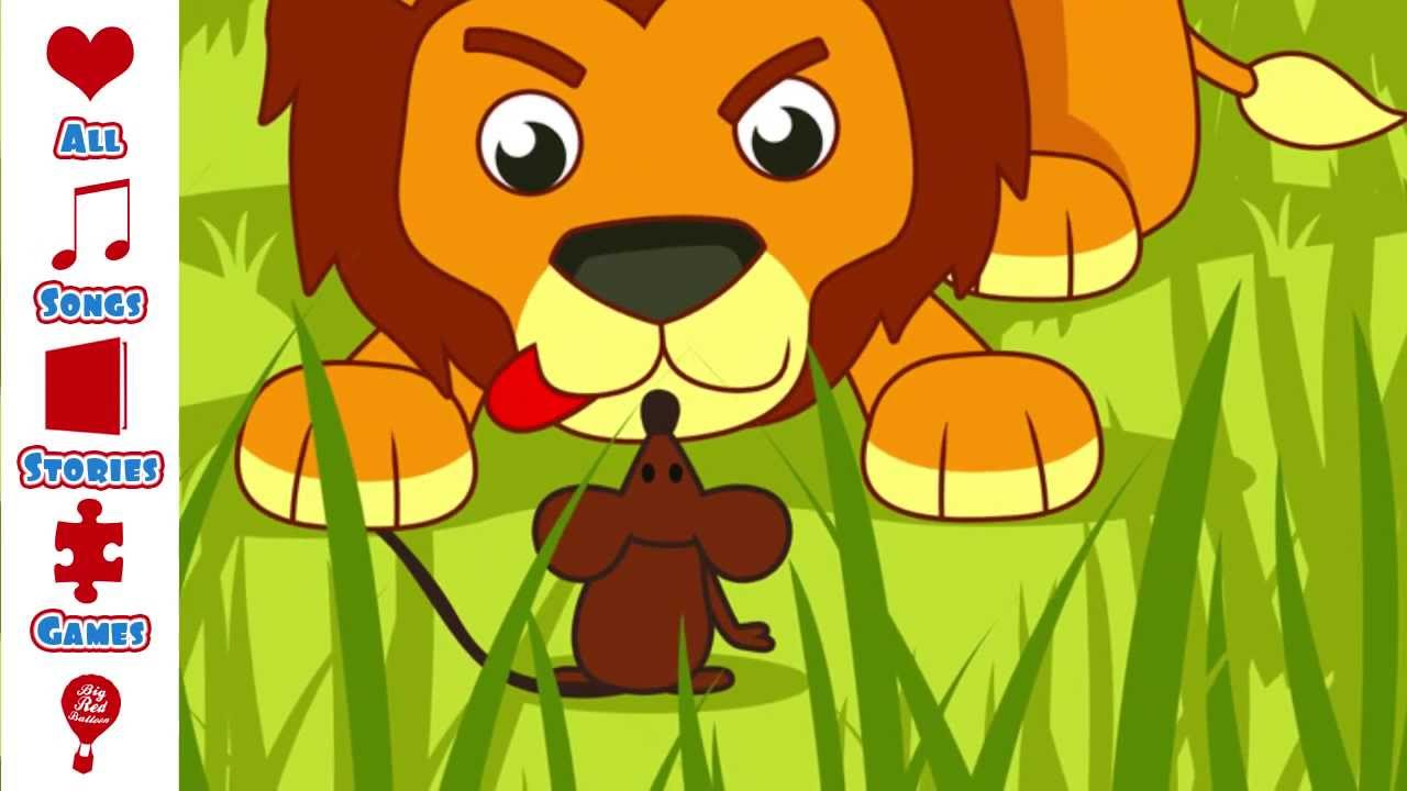 Children's Story | The Lion and The Mouse | children's story for ages 3-6