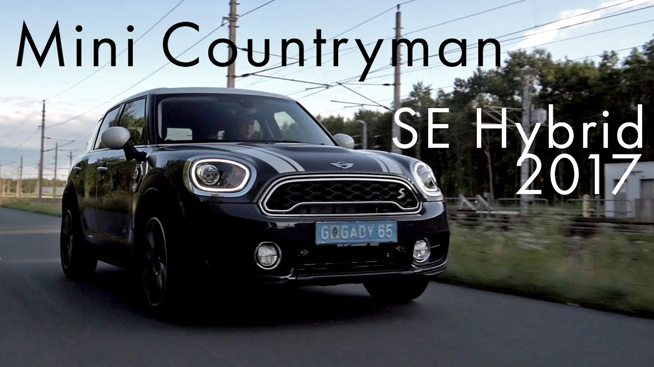 mini countryman se 2017 hybrid youtube. Black Bedroom Furniture Sets. Home Design Ideas