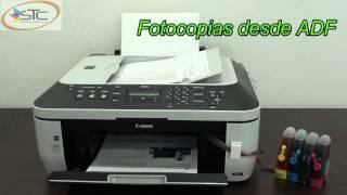 Multifuncional Canon MX320 Con Fax Sistema de Tinta Continua STC