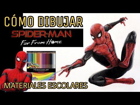 Cómo Dibujar A Spider Man How To Draw Spider Man Spider Man Far