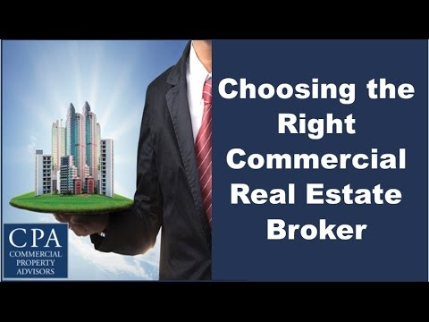 Choosing the Right Commercial Real Estate Broker - YouTube