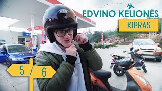Edvino Kelionės – Kipras    5/6    Laisvės TV X