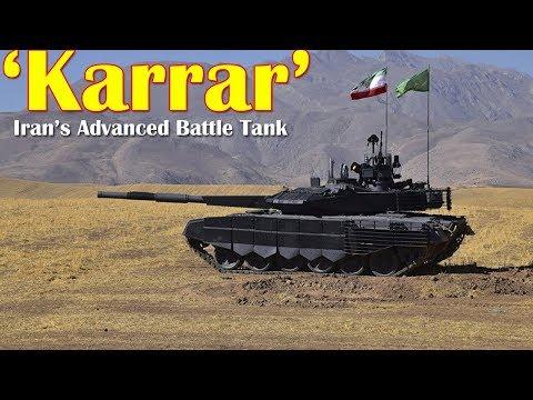 Iran's Advanced Battle Tank 'Karrar' Ready For Armed Forces