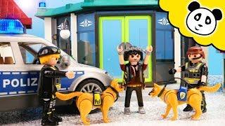 Playmobil Polizei - Der große SEK Polizeihunde Einsatz - Playmobil Film
