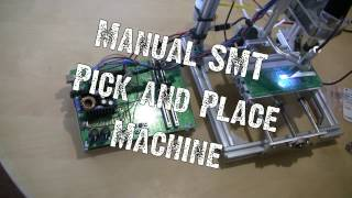 4 осі з ЧПУ ручного вибору і місця SMT машина