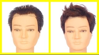 Hairstyles for Men with a High Forehead or Receding Hairline - TheSalonGuy