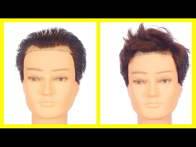 Hairstyles For Men With A High Forehead Or Receding Hairline Thesalonguy Youtube
