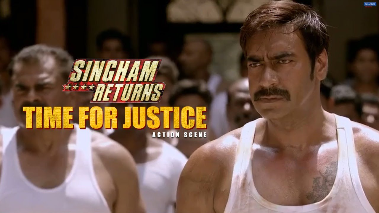 Download Time for Justice   Singham Returns   Movie Scene   Ajay Devgn   Rohit Shetty