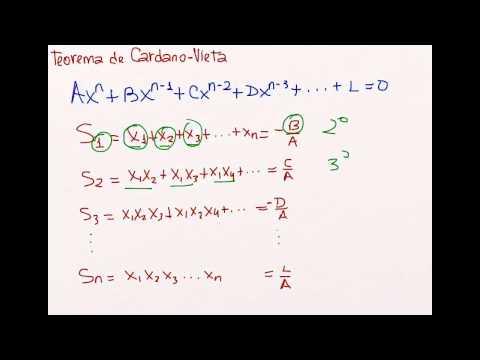 Teorema de Cardano-Vieta
