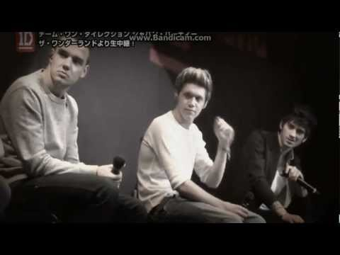 One Direction en japon (Liam dice