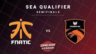 Fnatic vs TNC Predator Game 1 - DreamLeague S13 SEA Qualifiers: Semifinals