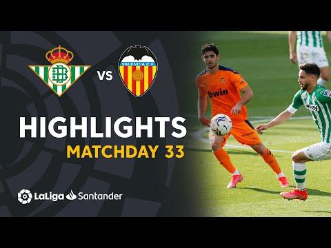 Highlights Real Betis vs Valencia CF (2-2)