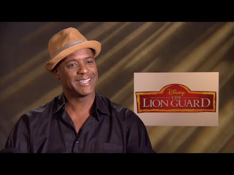 Blair Underwood on his role as Makuu from The Lion Guard - YouTube