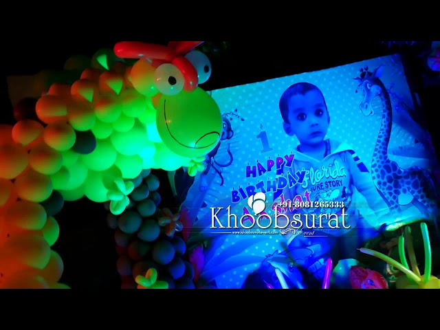 Akshat 1st birthday khoobsurat event.