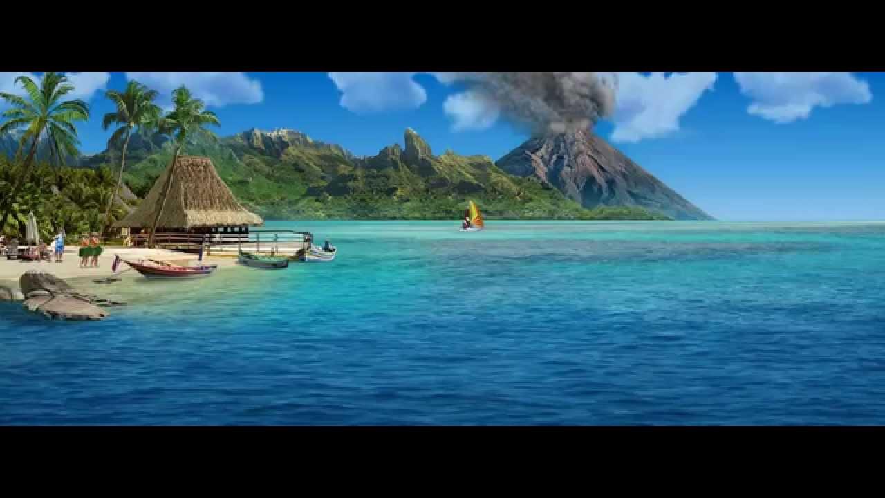 картинки анимация-море