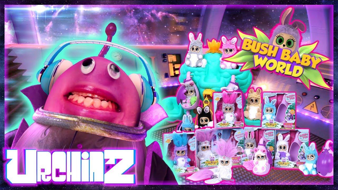 Bush Baby World - FULL RANGE!!!   Urchinz toy unboxing ...