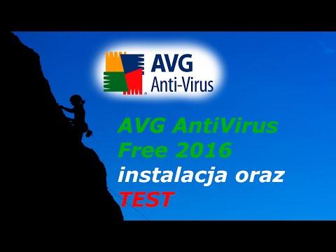 AVG AntiVirus Free 2016 - instalacja i test detekcji