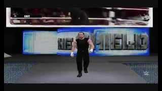 WWE 2K15 PC Mod; Dean Ambrose Tron & Music