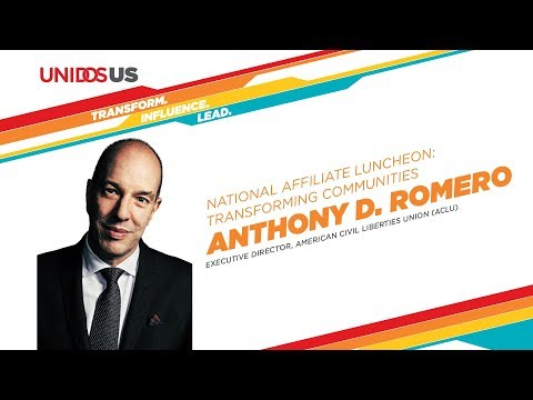 Anthony D. Romero, Executive Director, ACLU