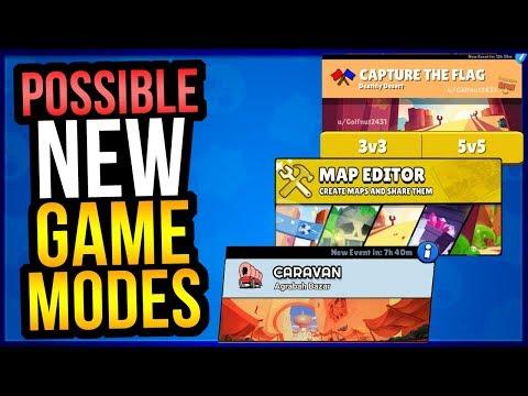 10 NEW GAME MODE IDEAS FOR BRAWL STARS! Gun Game, 5v5 & More!