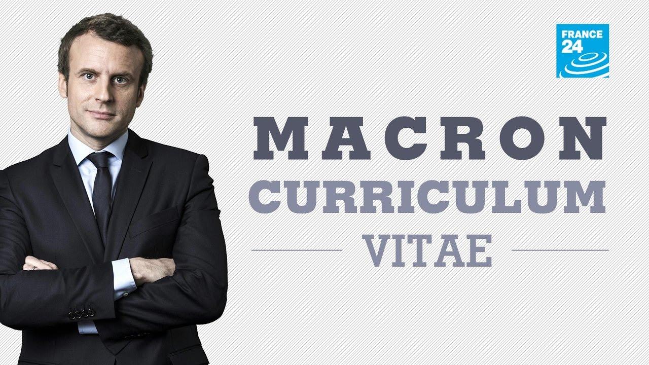 macron cv francais