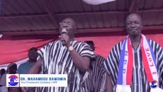 Dr. Bawumia in Odoben