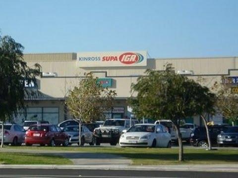 Driving in Perth - Kinross IGA to Mindarie United via Clarkson.