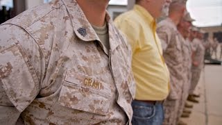 Staff Sergeant Promotion - Matthew Grant - US Marine Corps