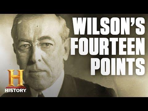 Woodrow Wilson's Fourteen Points | History