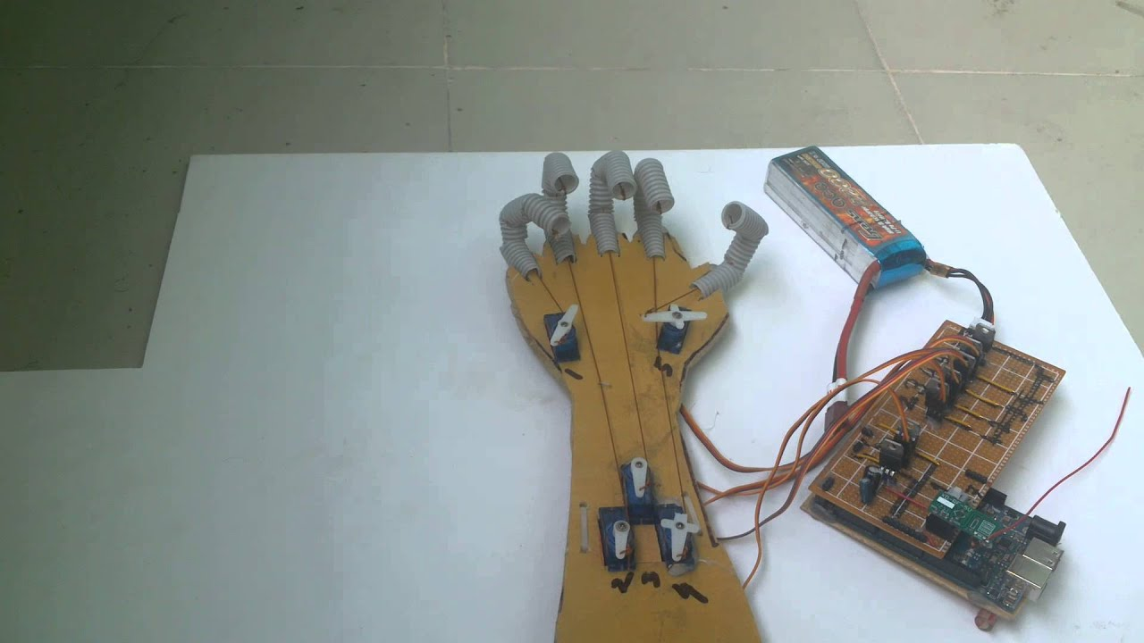 Robotshop M100rak V2 Modular Robotic Arm Kit No Electronics additionally 57418 besides Watch further Hydraulic Arm 44816113 also Ow903f. on gesture controlled