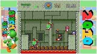 Super Yoshi's Land 1 - An Adventure to Rescue Mario! (D) | Super Mario World Hack