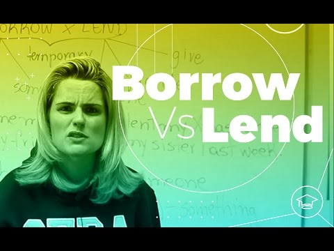 Borrow Vs Lend  | SEDA College Online