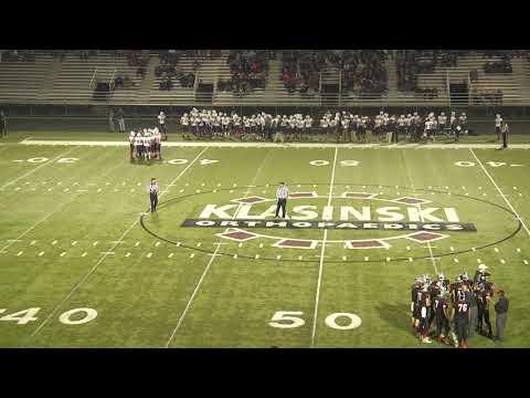 2016 Hudson Raiders Football vs Stevens Point Sectional