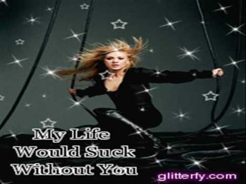 Kelly Clarkson My Life Would Suck Without You with lyrics