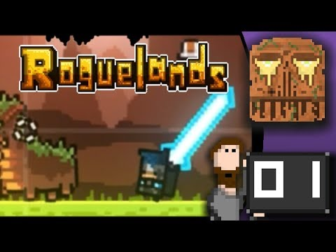 Roguelands. Part 1: Explore and beat up innocent dinosaur dogs.