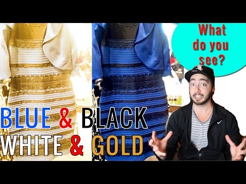 The Dress Illusion | WHITE & GOLD - BLUE & BLACK