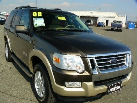 Used car Sales Maryland Ford Dealer 2008 Ford Explorer Eddie Bauer 4WD