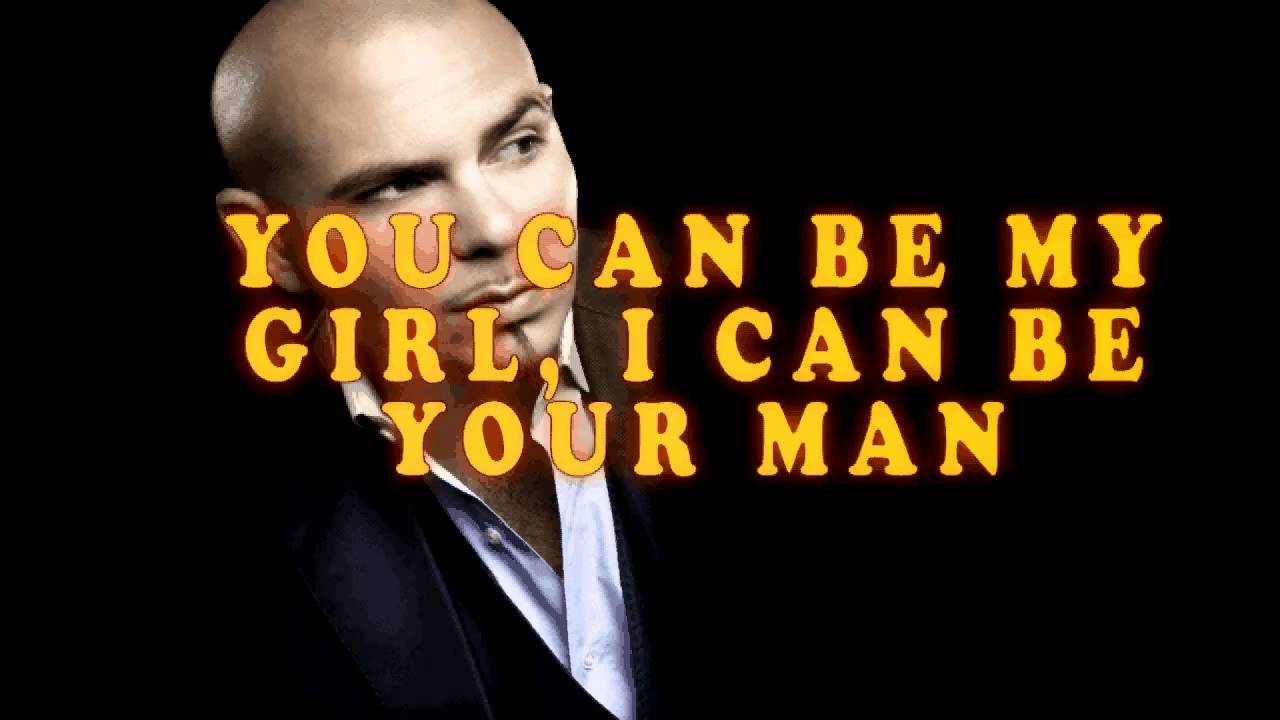 Pitbull   Hey Baby Ft. T Pain (Drop It To The Floor) W/ Lyrics