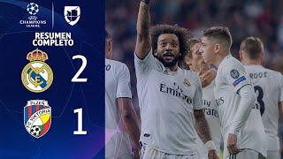 Real Madrid 2-1 Viktoria Plzen - GOLES Y RESUMEN COMPLETO - Grupo G UEFA Champions League