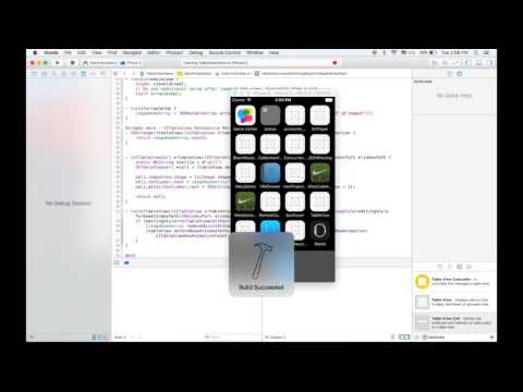 iOS TableView Basics Objective-C