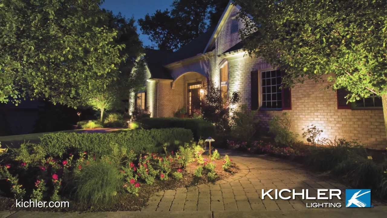 kichler outdoor lighting defines your style