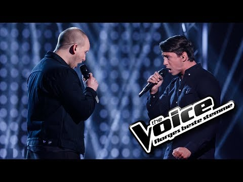 August Dahl vs. Abel Eitland - Writing's On The Wall | The Voice Norge 2017 | Duell