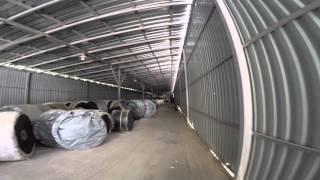 Конвейерная лента от компании Раббер Компани(Компания Раббер Компани предлагает Вам небольшую экскурсию по нашему складу в Подольске. Склад конвейерно..., 2015-05-26T09:22:41.000Z)